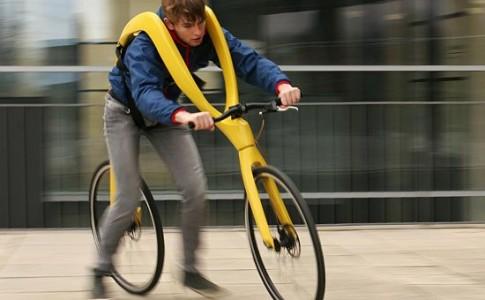 Δημιούργησαν ποδήλατο χωρίς...πετάλια και σέλα (Video)