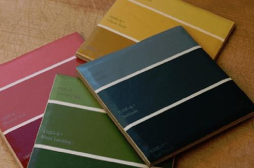 DIY: Μάζεψε δείγματα από Χρώματα και τα Μετέτρεψε σε Κάτι Μοναδικό!