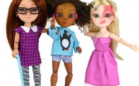 Η πρώτη κούκλα με αναπηρία στον κόσμο μόλις κυκλοφόρησε
