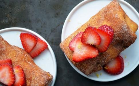 Τορτίγιες με φράουλες!