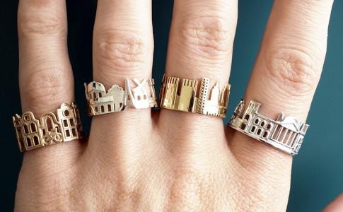 Οι αγαπημένες πόλεις σας, στα χέρια σας, με την μορφή δαχτυλιδιών!