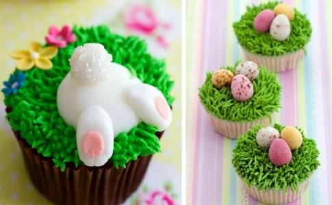 Τέλεια πασχαλινά cupcakes για μικρούς και μεγάλους!
